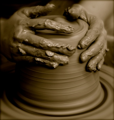 Image result for potter making pottery